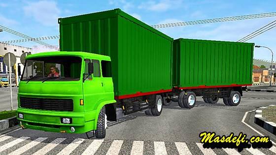 mod truck gandeng box