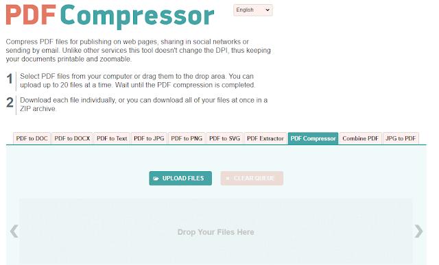 PDF Compressor Free Convert dan Kompres PDF
