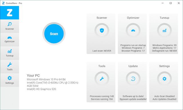 Screenshot ZookaWare Pro 5.1.0.29 Full Version
