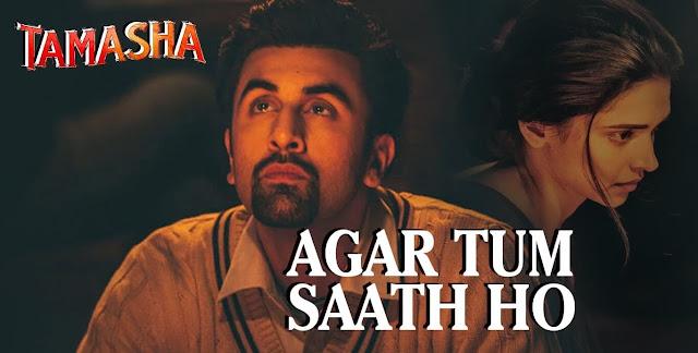 Agar Tum Saath Ho Guitar TABS | Tamasha