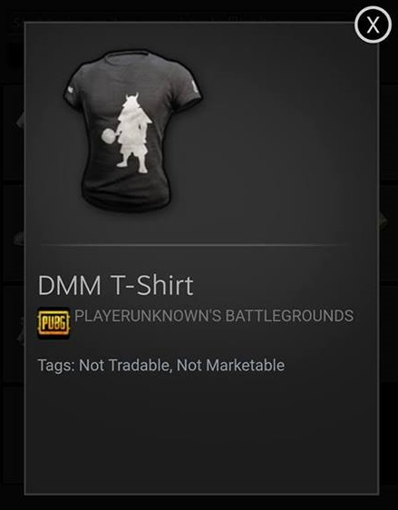 PUBG DMM Shirt Codes Pinoy Game Store