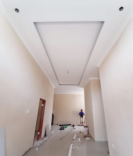 Ruang tamu rumah desain mewah berkualitas, ready dan siap huni, Cluster Eka Sari, Jl. Eka Sari Eka Rasmi Medan Johor