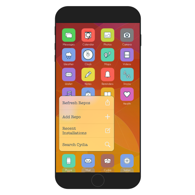 After the release of iOS 9, there were some tweaks that brought 3D Touch in older devices. Forcy & RevealMenu were among the popular. Shortcutix is a new tweak in cydia that allows you to customize every part of Forcy & RevealMenu.