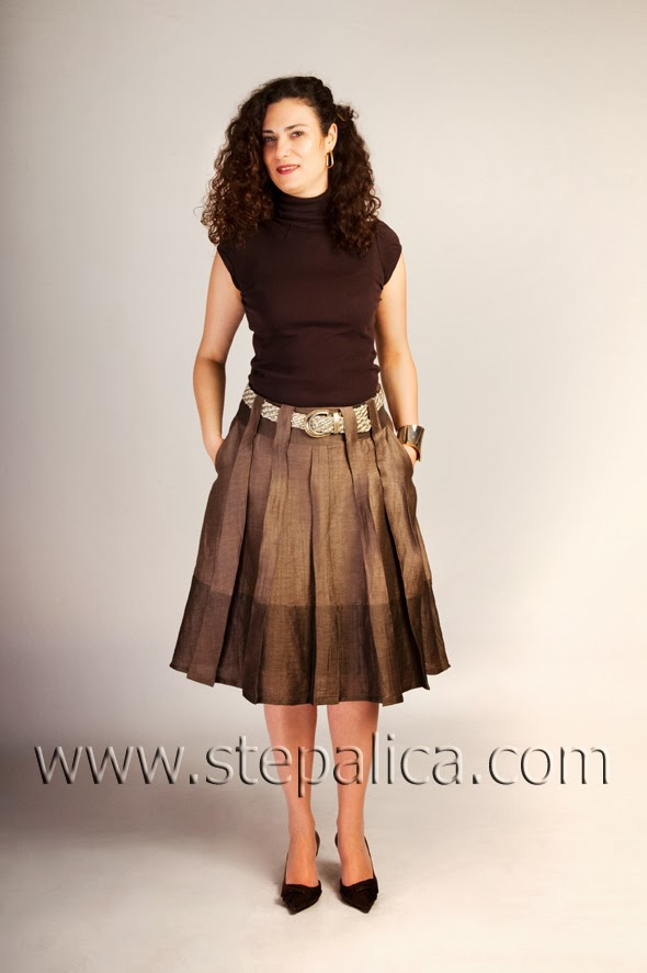 Stepalica: Zlata skirt Pattern #1401 - variation B