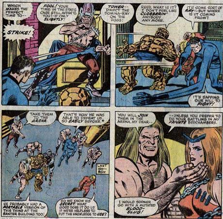 Fantastic Four 153 Mahkizmo