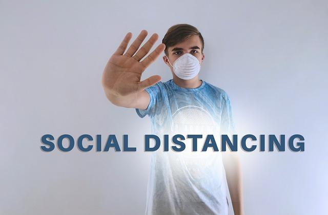 Practice social distancing to prevent Covid-19 infection (HealthDiseaseBlog.com)
