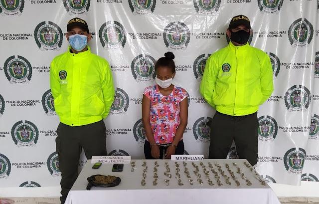 hoyennoticia.com, En Valledupar Jibara de El Edén tenía 213 dósis de marihuana