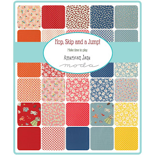 Moda Hop, Skip and a Jump Fabric by American Jane for Moda Fabrics