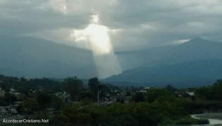Imagen de Jesús entre las nubes
