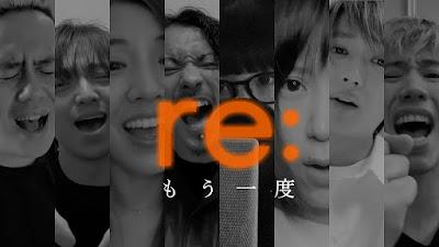 Taka ONE OK ROCK, Shota Shimizu, Aimer, Mao Abe, ayaka, Kenta WANIMA, Nissy, Daichi Miura [ re: ] project - Mou Ichido info lagu details lyrics lirik 歌詞 terjemahan kanji romaji indonesia english translations