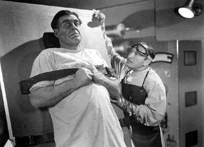 Still, Lon Chaney Jr. and Lionel Atwill, Man Made Monster (1941)
