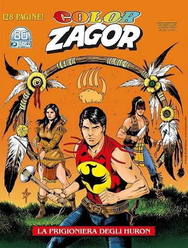 Color Zagor n. 13: La prigioniera degli Huron recensione