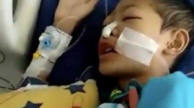 Innalillahi, Bocah Bekasi yang Viral Lantunkan Al Quran saat Kritis, Wafat