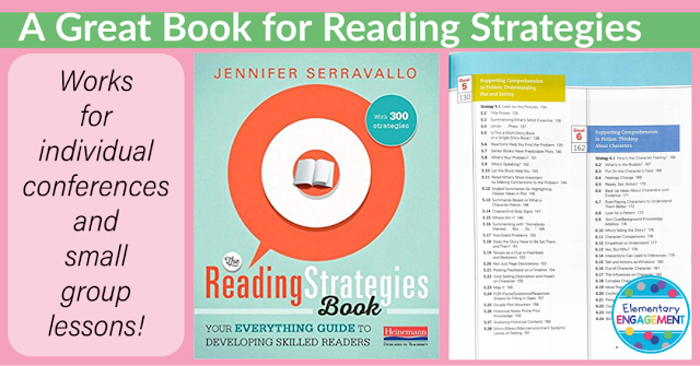 The Reading Strategies Book includes strategies for 13 different reading goals!  The strategies work great for individual conferences as well as strategy groups.