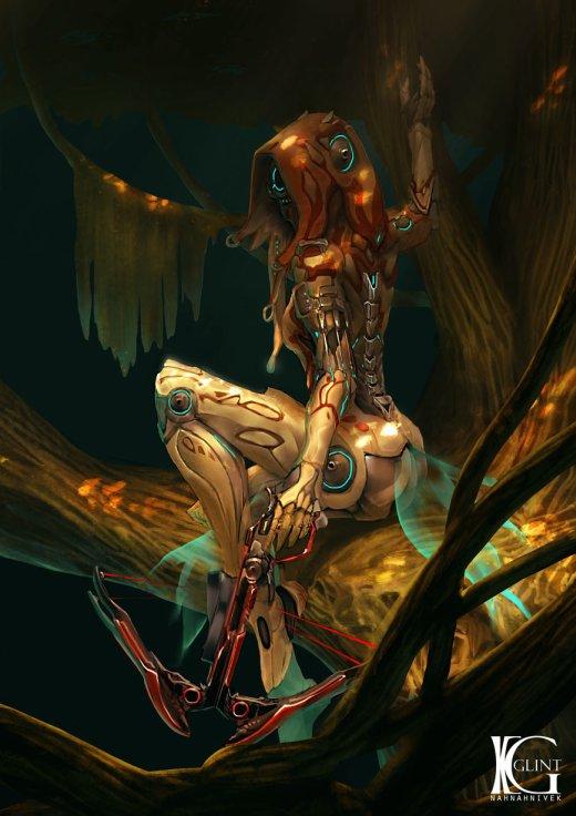 Kevin Glint artstation deviantart arte ilustrações fantasia ficção científica games