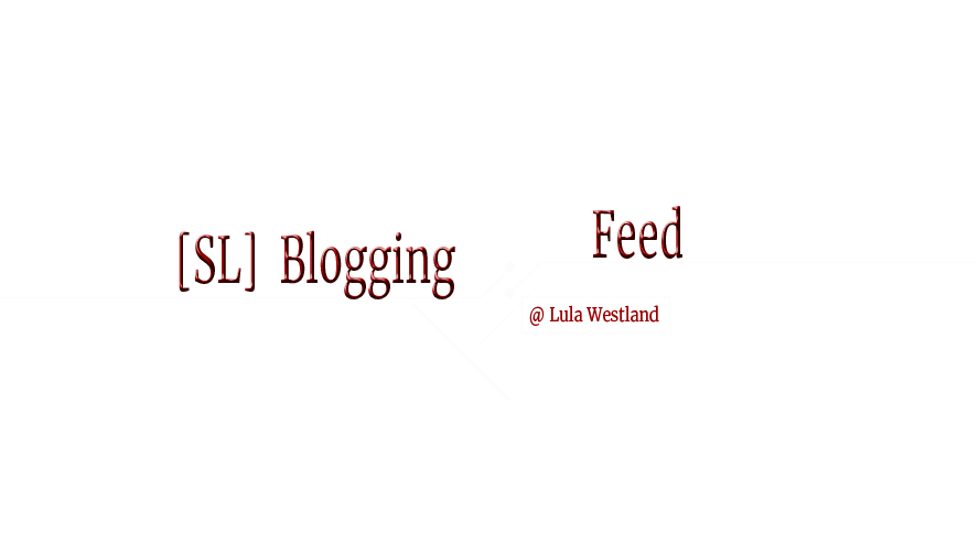 Blogging Feed