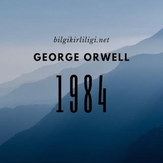 1984 kitabının kısa özeti kapağı