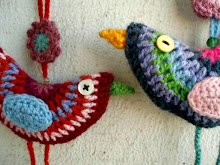 Pajaritos a crochet