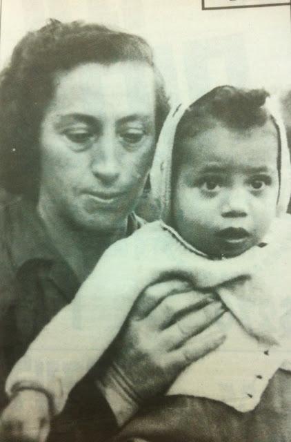 צילה לוין ואמה המאמצת