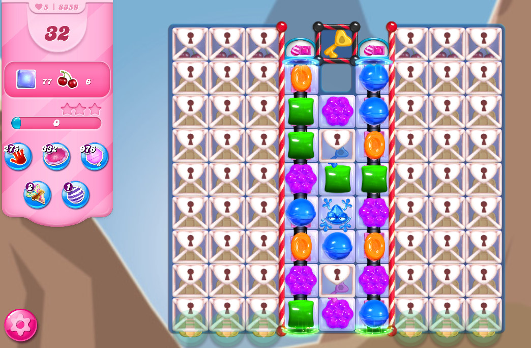 Candy Crush Saga level 8359
