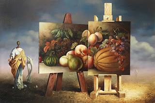 sorprendente-estilo-surrealista-pintura-al-óleo pinturas-figurativas-surrealistas