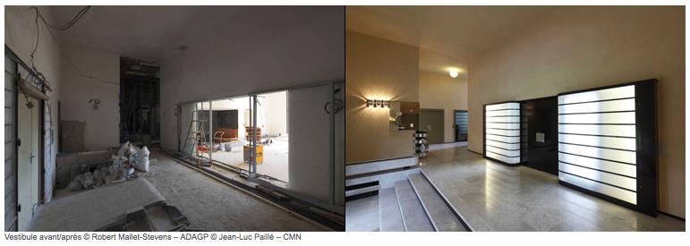 le blog des amis de la villa cavrois un ch teau moderniste. Black Bedroom Furniture Sets. Home Design Ideas