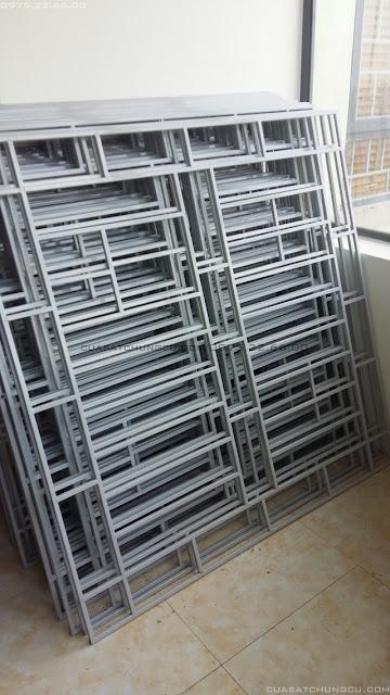 Mẫu cửa sắt chung cư đẹp tại chung cư XpHomes Tân Tây Đô