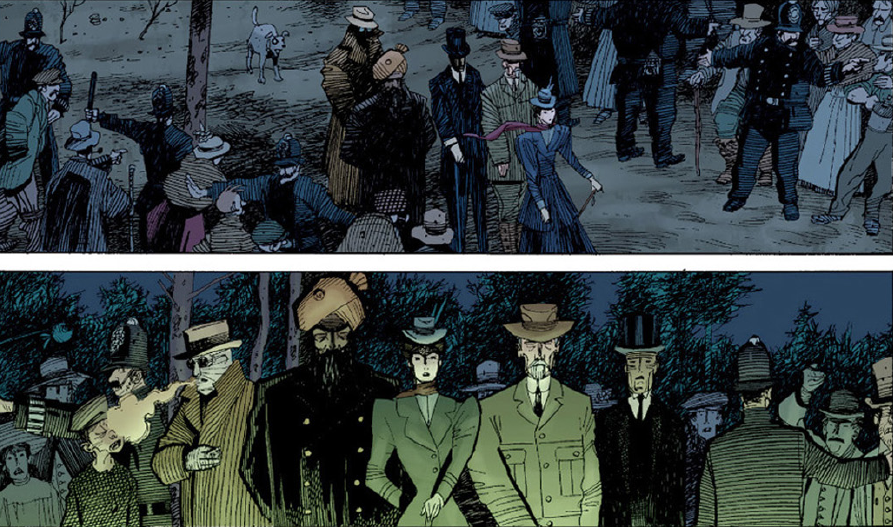 annotations to league of extraordinary gentlemen volume - 893×527