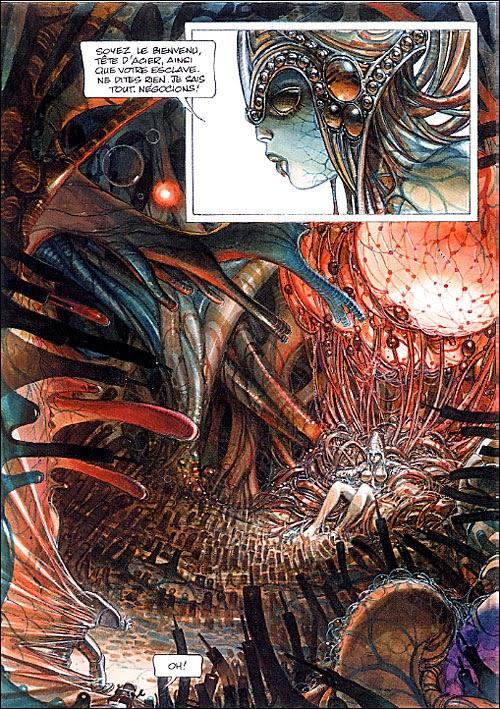 Página interior de la casta de los metabarones