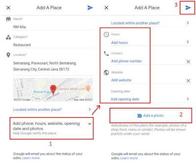 Menambahkan Tempat di Google Maps Lewat Ponsel