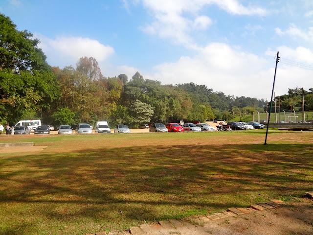 Estacionamento no Horto ou Parque Estadual Albert Löfgren