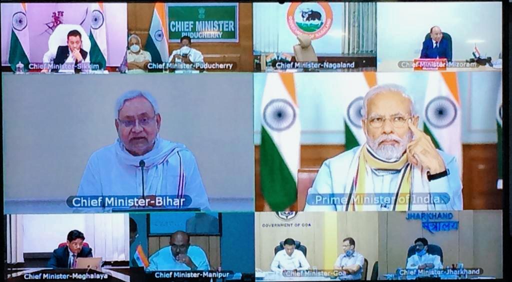 विशेष किट से होगा कोरोना संक्रमित मरीजों की जाँच वीडियो कॉन्फ्रेंसिंग के जरिए CM नीतीश कुमार ने PM