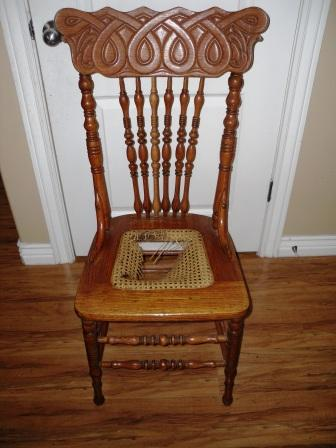 how to cane a chair bedroom for toddler remodelaholic replacing seated