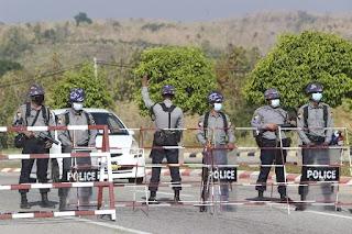 A Coup in Myanmar, Aung San Suu Kyi in Custody