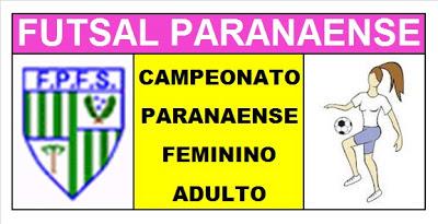 Resultado de imagem para FUTSAL FEMININO  PARANAENSE ADULTO - LOGOS