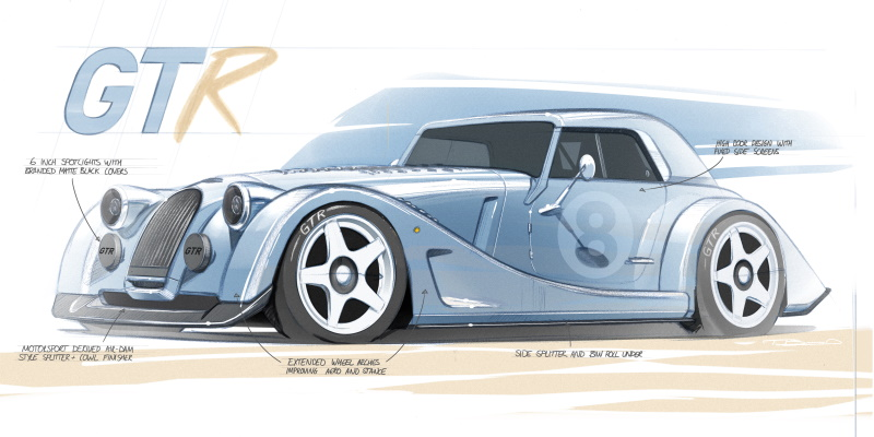 Morgan Motor Company unleashes the Plus 8 GTR special project