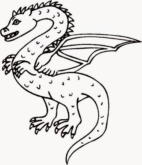 The Boneknapper Dragon Coloring Pages Coloring Pages