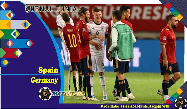 Prediksi Spanyol Vs Jerman, Rabu 18 November 2020 Pukul 02.45 WIB @ Mola TV