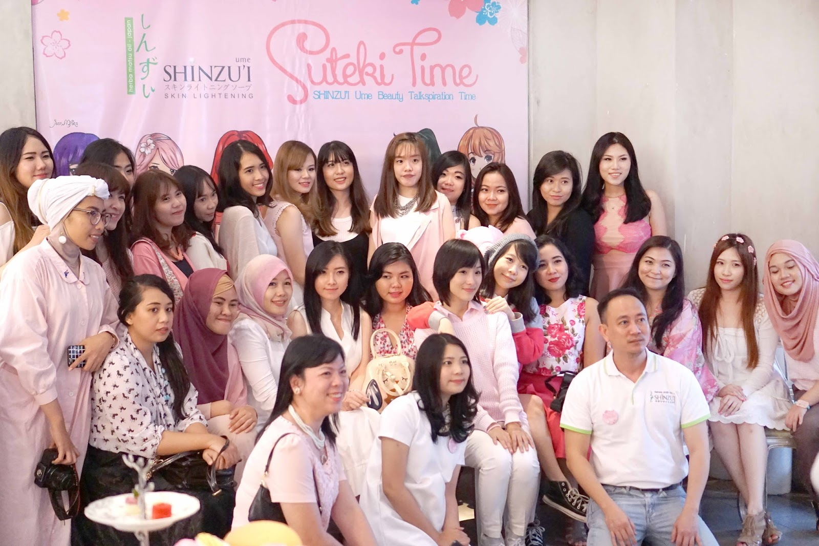 blogger gathering, beauty blogger indonesia. beauty blogger, jean milka, jeanmilka, shinzui, shinzui ume, blogger gathering jakarta, kawaii beauty japan, event with jean milka, indonesian beauty blogger
