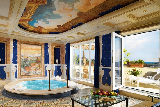 Villa La Capula Suite, Westin Excelsior, Rome