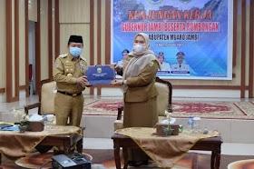 Bupati dan Wakil Bupati Muaro Jambi Sambut kunjungan kerja Gubernur Jambi Al Haris