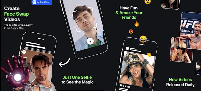 قم بتنزيل REFACE: Face swap videos  - تطبيق تغيير الوجه في الفيديو لنظام الاندرويد الاصدار الاخير