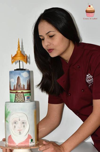 Algérie & Thaïlande - Patama Bourras - Crazy in Cake