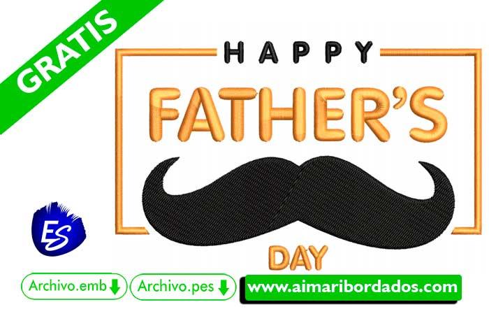 Letras Happy Day Fathers para bordar