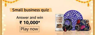 Amazon Small Business Quiz - There are more than 6.5 lakh Indian small businesses that sell on Amazon.