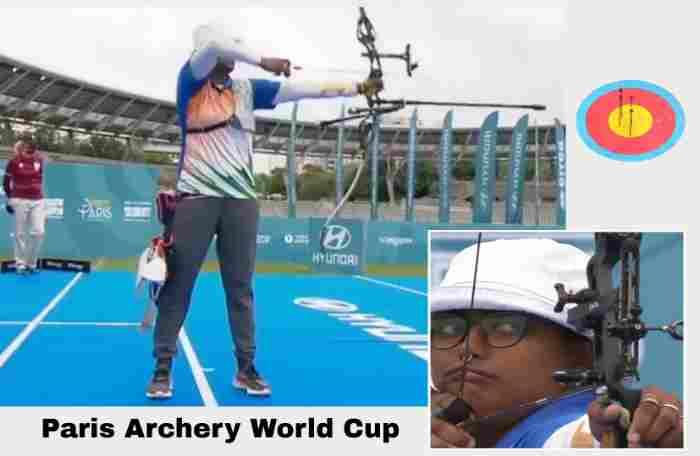 Deepika Kumari Paris Archery World Cup,