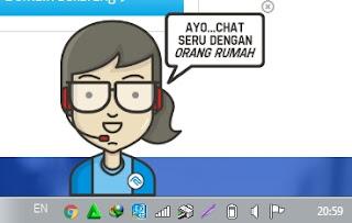 layanan chat rumah web