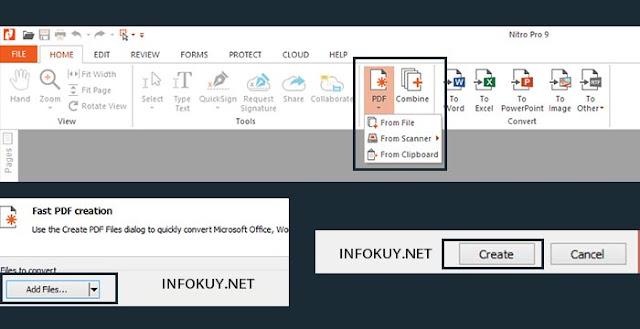 Cara Mengubah Word ke PDF Menggunakan Nitro Pro