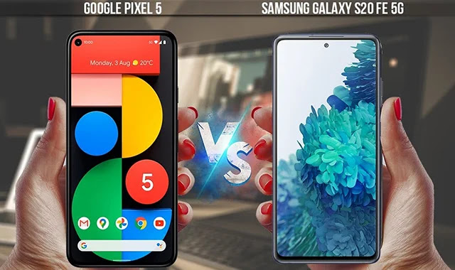 Galaxy S20 FE vs Google Pixel 5