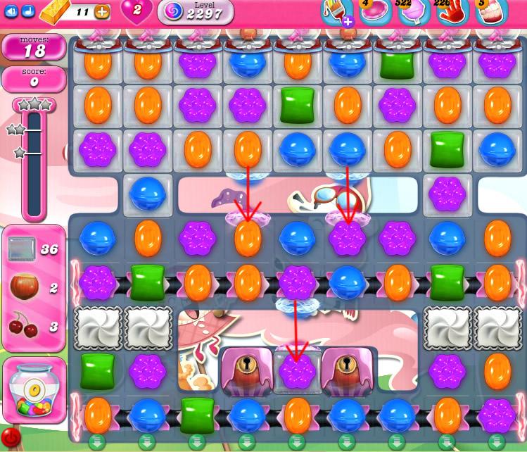 Candy Crush Saga level 2297